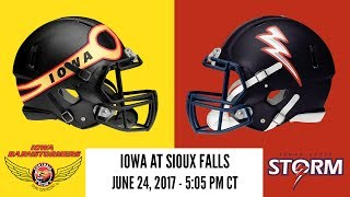 United Conference Championship: Iowa at Sioux Falls (Barnstormers Radio)