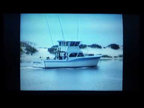 News story about Destin Harbor from WJHG TV, Panama City, Florida. July 14th, 1987