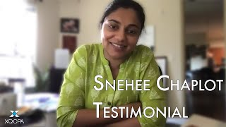 XQ CPA Client Testimonial | Snehee Chaplot (The Food Shop)