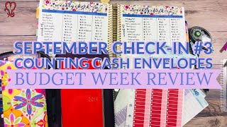 Weekly Budget Check-In | Counting Cash Envelope Money | New Cash Envelope System Dave Ramsey FPU