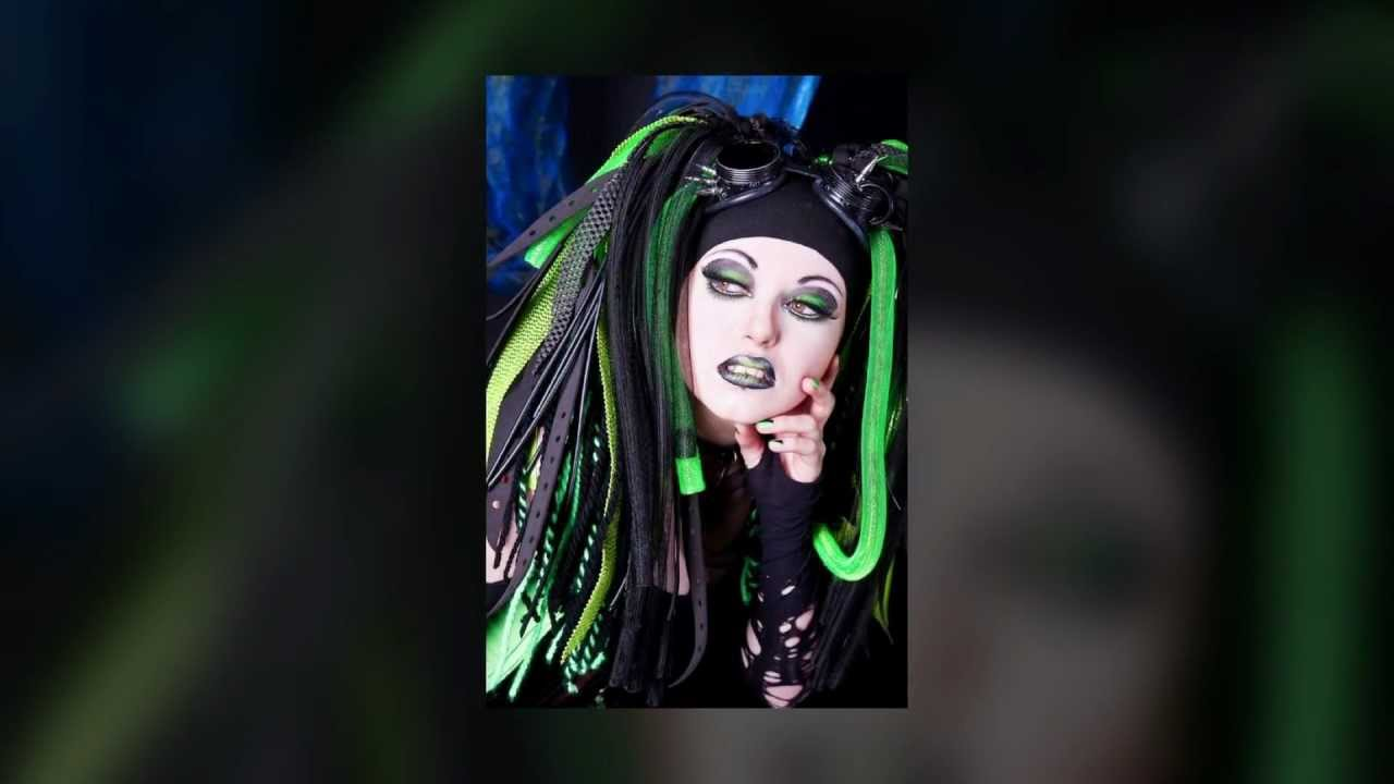 Beautiful Cyber Goth Girls 2