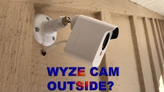 WYZE CAM OUTSIDE? HOW TO SET UP A BUDGET SECURITY SYSTEM
