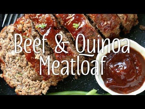 Beef & Quinoa Meatloaf