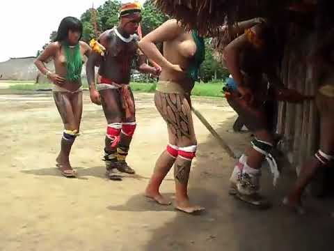 Brazil indigenous dance | Tears Of The Girls In Amazon Rain Forest - 아마존의 눈물 EP.06 thumbnail