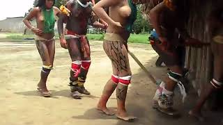 Brazil indigenous dance | Tears Of The Girls In Amazon Rain Forest - 아마존의 눈물 EP.06