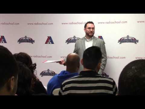 American Broadcasting School presents JR Schumann