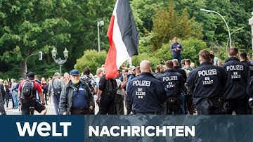 WELT NEWS IM STREAM: Corona-Demos in Deutschland - Tausende Polizisten im Einsatz