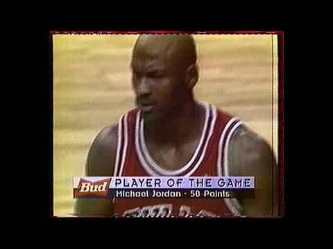 Chicago @ Miami - Michael Jordan 50 pts - 1996 Full Game