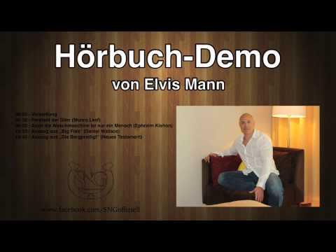 Hörbuch-Demotape von Elvis Mann (SNG prod.)