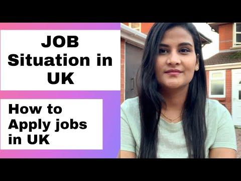 Jobs In UK | How To Apply Jobs In UK | Job Situation In UK 2nd Lockdown |