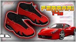 NBA 2k18 Shoe Creator - Air Jordan Ferrari 14s