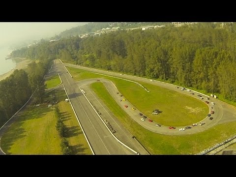 Mission Raceway, Sports Car Club of BC Aerial Highlights 2013