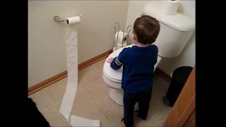 Toddler and Toilet Paper Vlog #60