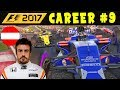 F1 2017 CAREER MODE PART 9 - RAIN AT AUSTRIAN GP - McLAREN HONDA | INTERACTIVE LIVE STREAM
