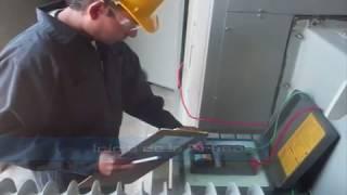 Resistencia de Aislamiento (Megger) a Transformador de 300 kVA