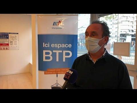 Emploi et BTP sur BFM Grand Lille :