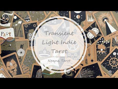 開箱  迅逝之光塔羅牌 • Transient Light Indie Tarot // Nanna Tarot