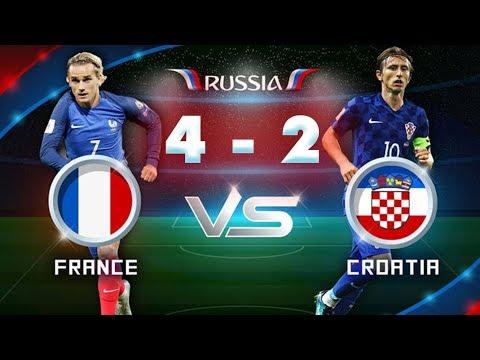 PHÁP vs CROATIA 4 - 2 : Xứ lục lăng lần thứ hai lên đỉnh World Cup? - CHÁY CÙNG WORLD CUP 2018