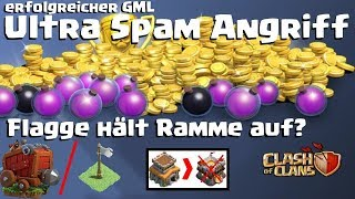 [531] Fahne hält Rammbock auf? GML Ultra Spam Angriff | Rh8 gegen Rh11 | Clash of Clans Deutsch COC