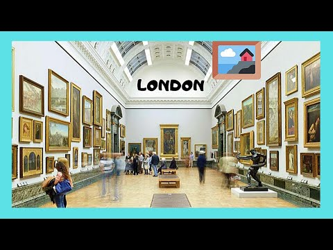 LONDON, EXPLORING the wonderful TATE BRITAIN ART GALLERY, ENGLAND