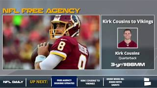NFL Free Agency: Breaking Down The Major NFL Signings From March 13th