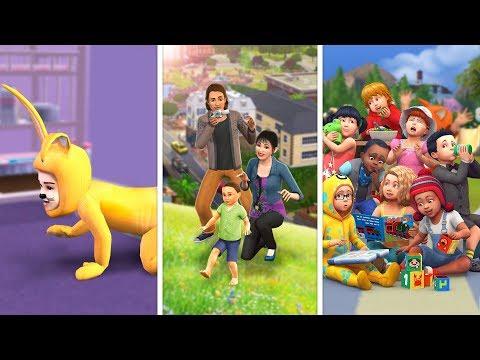 Малыши (Тоддлеры) в The Sims   Сравнение 3 частей