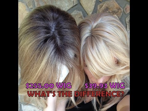 Differences Between a Synthetic Economy Wig and Synthetic High-End Wig