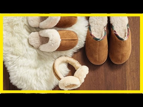 US Newspapers - Aldis sheepskin slippers are back in time for Christmas!