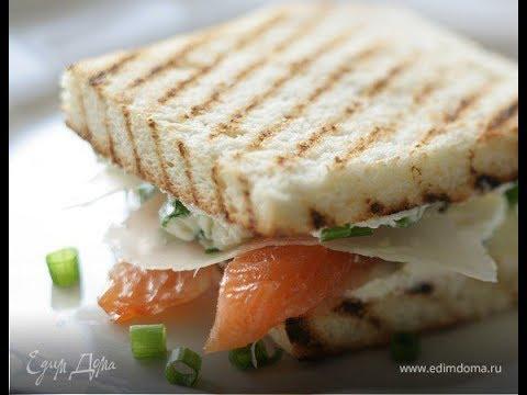 Видео Сэндвичи с семгой рецепт