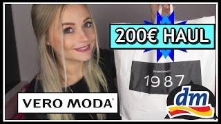 200€ HAUL || Dezember 2017|| Vero Moda, H&M, DM, Rossmann ...| Blond_Beautyy