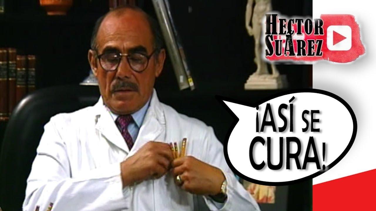LA CURA AL VIRUS.  El pecho. AMOR A DISTANCIA.  El Curriculum - Humor con Hector Suarez