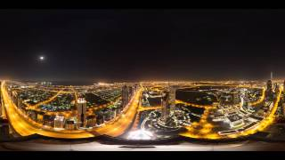 8K 360 Degree Timelapse Of Dubais Sheikh Zayed Road