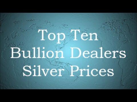 Top Ten Bullion Dealers Silver Prices     2 April 2017