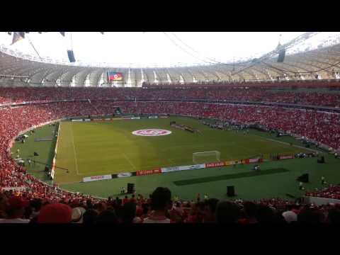 Hino Rio Grandense na reinauguração do Beira-Rio