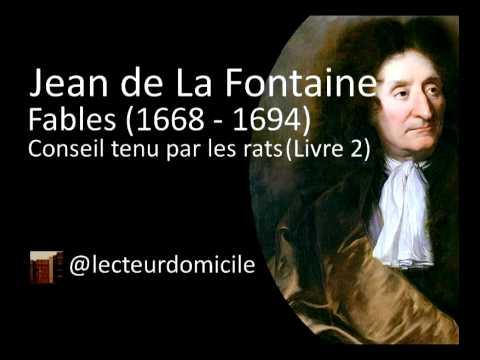 Fables De La Fontaine - Conseil Tenu Par Les Rats