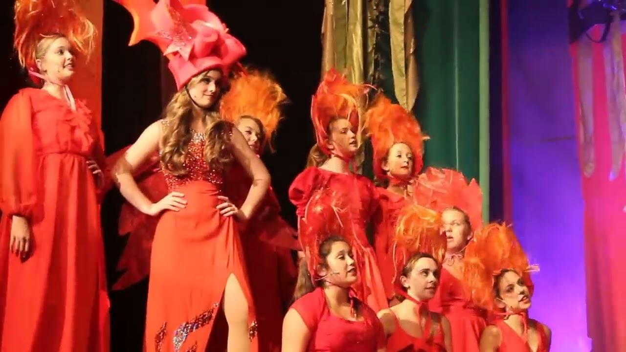Shrek The Musical Forever Mckenna Wells As Dragon Youtube