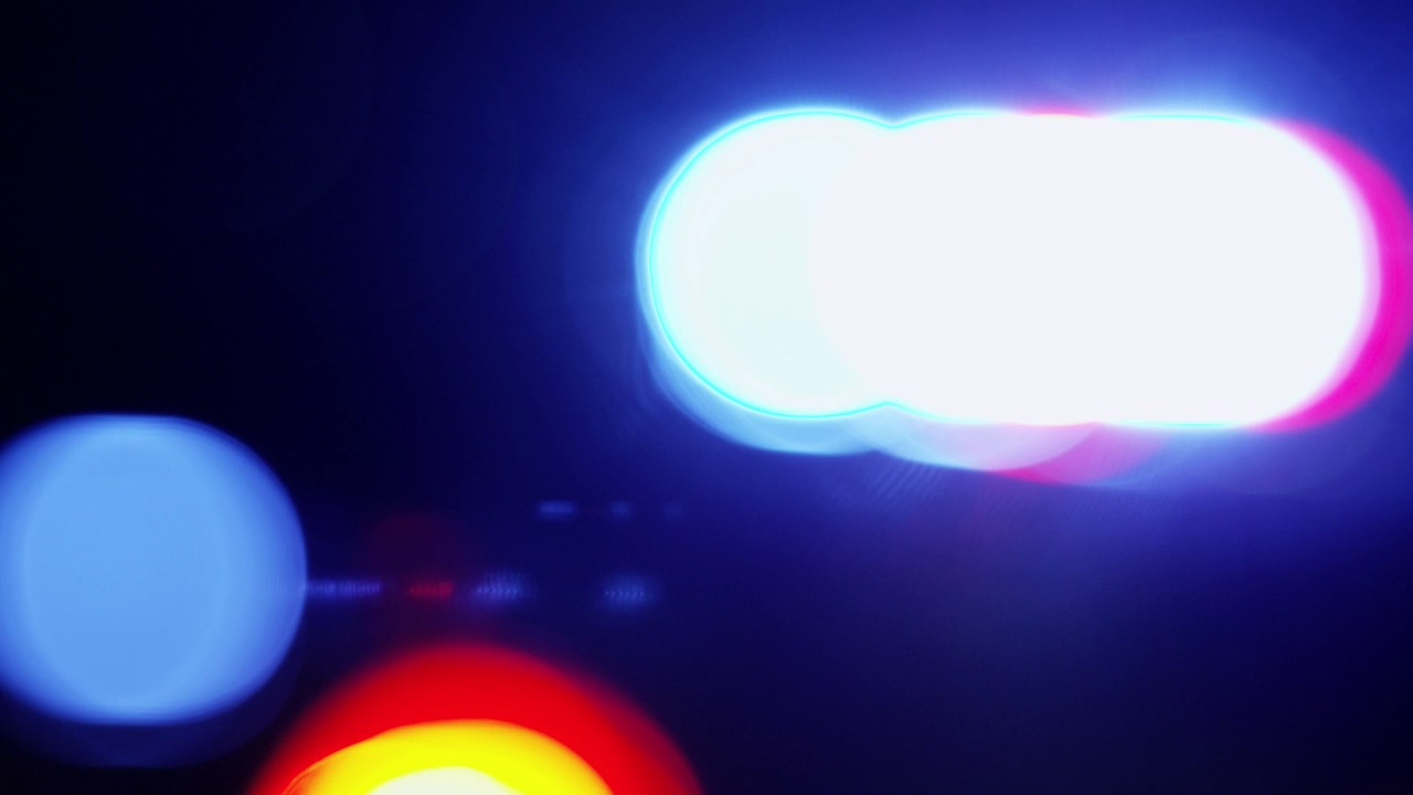 Police Car Light Blur Beautiful Background Video Effects