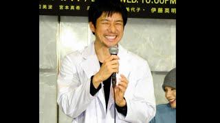 """西島秀俊に""""眉間のしわ禁止令"""" 笑顔の西島秀俊=東京・台場 俳優の西島..."""