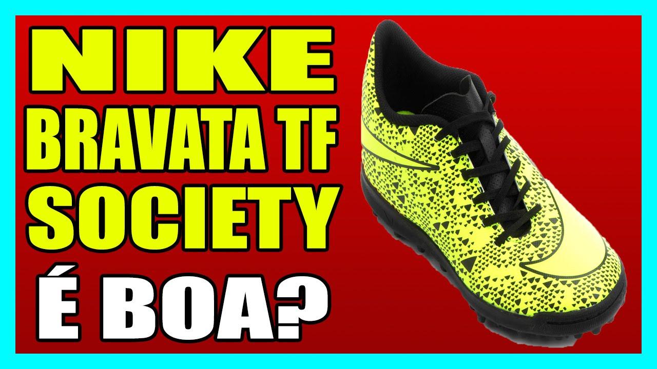 3a502fb04284a CHUTEIRA NIKE BRAVATA TF SOCIETY - YouTube