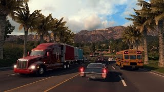 American Truck Simulator PC Gameplay /2016/ Full HD