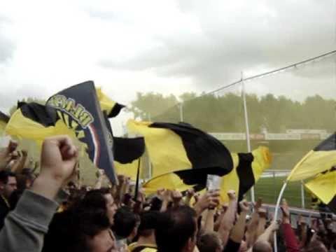 St Pauli - BVB: Stimmung im Gästeblock