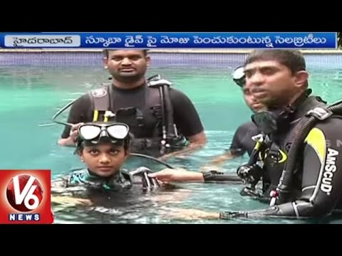 Special Story On Scuba Diving | Live In Adventure Club | Hyderabad | V6 News