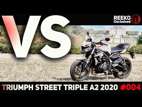VS⚡️TRIUMPH STREET TRIPLE S A2 2020 🔴 REEKO Unchained