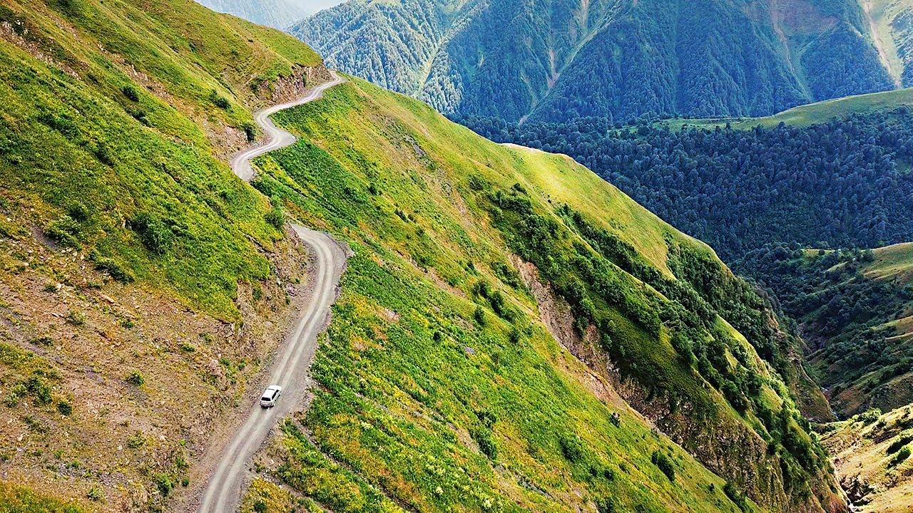 Край самых опасных и красивых дорог Грузии. Тушетия.