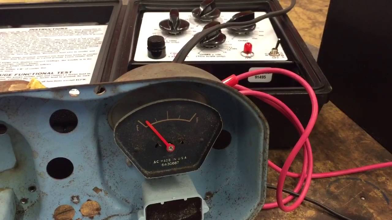 67 gto fuel gauge youtube rh youtube com Auto Meter Gas Gauge Wiring Boat Gauge Wiring Diagram