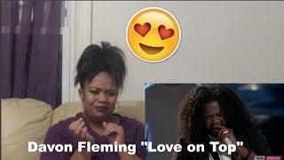 The Voice 2017 Davon Fleming-Top 12