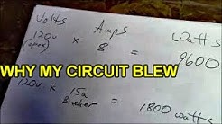 Electric circuit overload and power strip safety