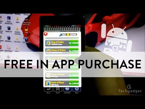 how to get for free in app purchases from android