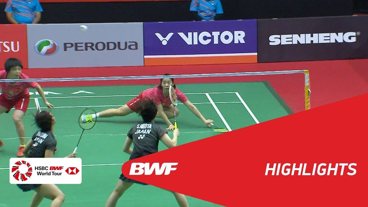 Perodua Malaysia Masters 2018  Badminton WD - SF