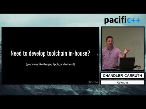 "Pacific++ 2017: Chandler Carruth ""LLVM: A Modern, Open C++ Toolchain"""